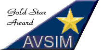 avsim gold star award